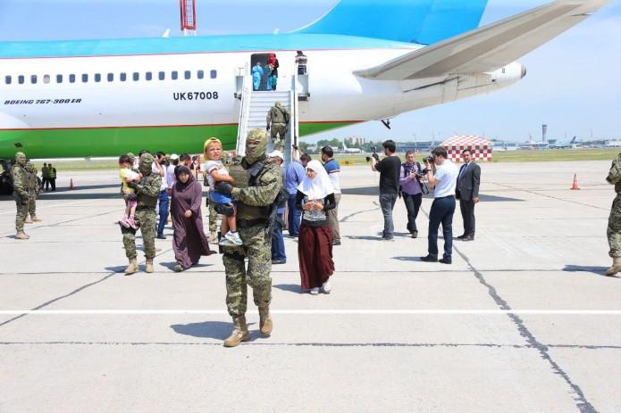 156 граждан Узбекистана возвращены из зоны конфликтов на Ближнем Востоке