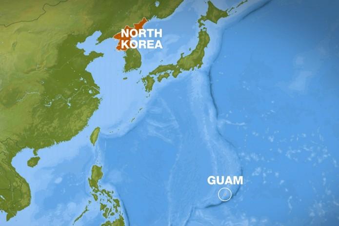 Пхеньян разрабатывает план удара по Гуаму