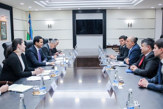 Узбекистан и ЕБРР обсудили вопросы проведения первого заседания Совета иностранных инвесторов
