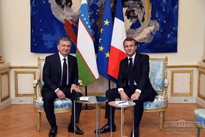 В ходе визита Президента Шавката Мирзиёева во Францию подписано 10 документов