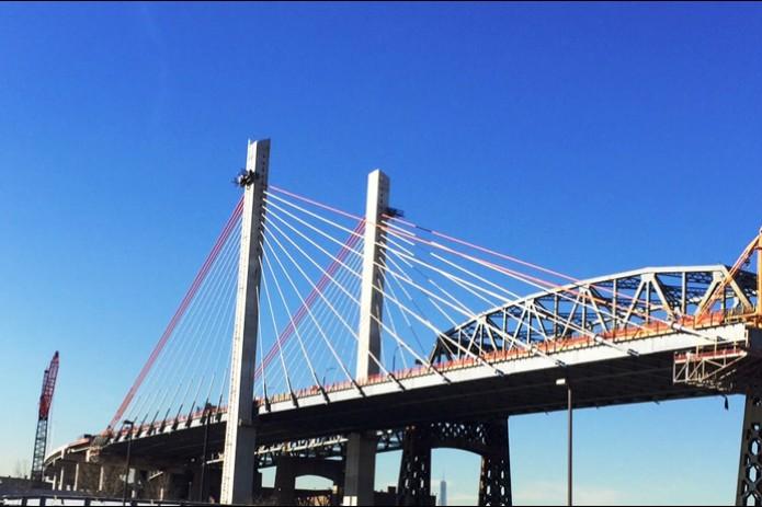 Видео подрыва автомобильного моста Костюшко вНью-Йорке