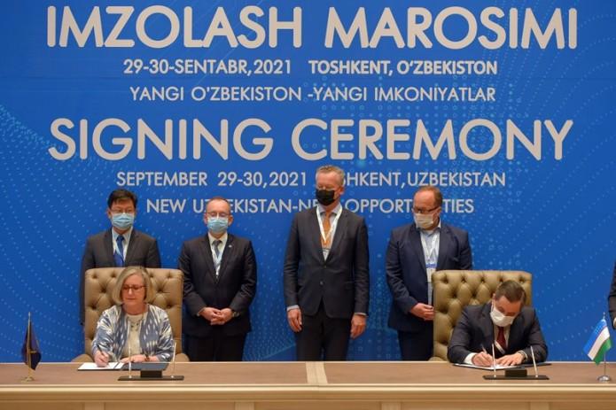 Узпромстройбанк подписал ряд соглашений на $71,6 млн с иностранными партнерами