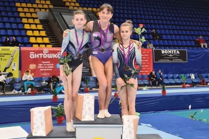 Оксана Чусовитина завоевала золотую медаль в Киеве