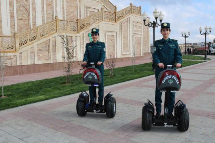 В Ташкенте появилась туристическая полиция