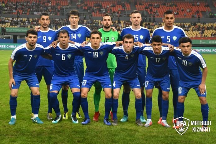 Сборная Узбекистана поднялась на 4 позиции в рейтинге ФИФА