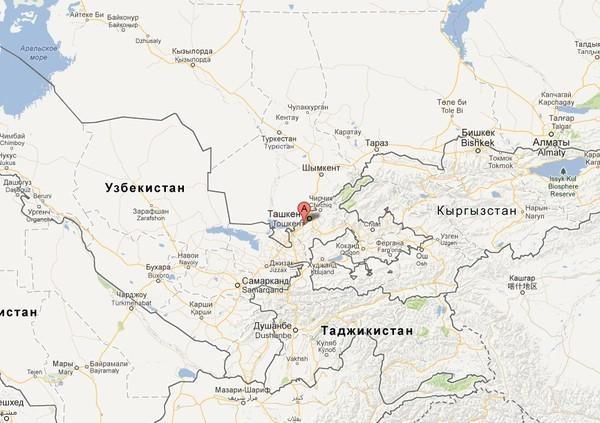 В Ташкенте произошло землетрясение силой 4,5-5 баллов