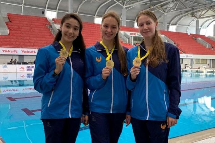 Синхронистки Узбекистана победили на международном турнире в Сингапуре