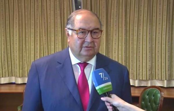 Президент Международной федерации фехтования Алишер Усманов дал эксклюзивное интервью телеканалу UzReport TV