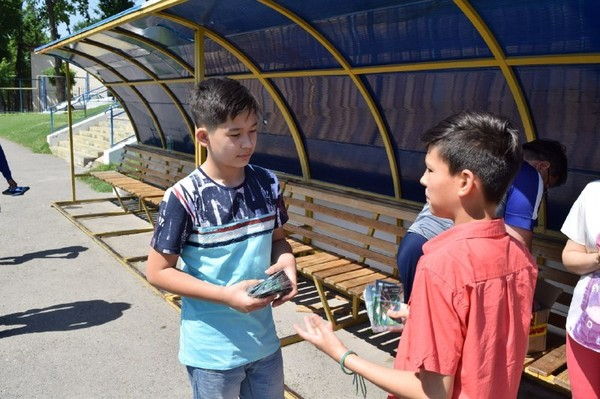 В Ташкенте отметили день футбола и дружбы