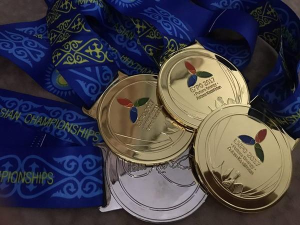 Гимнастки из Узбекистана завоевали 17 медалей на Чемпионате Азии