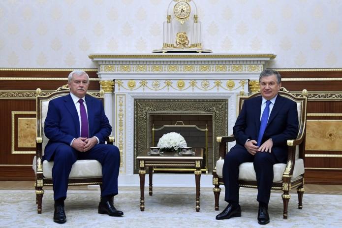 Георгий Полтавченко посетит софициальным визитом Республику Узбекистан