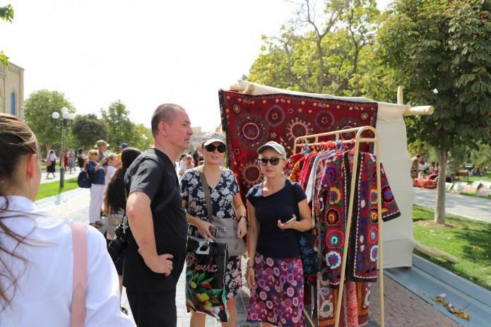 В Самарканде прошел фестиваль Silk Road Bazar