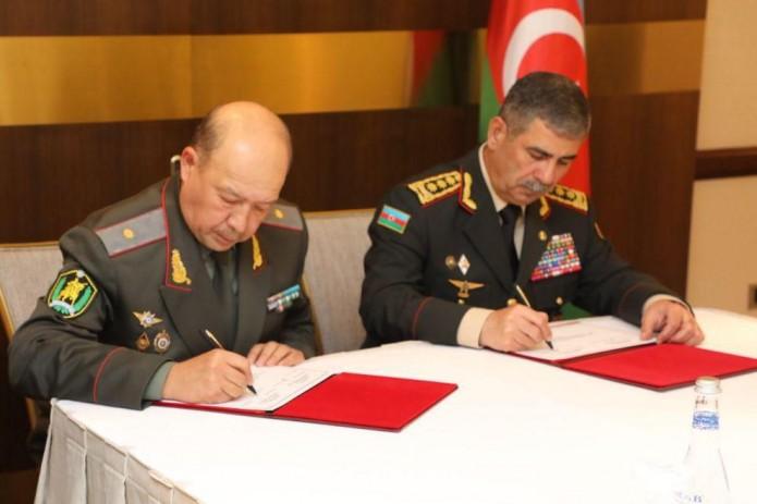 Оборонные ведомства Узбекистана и Азербайджана подписали план сотрудничества