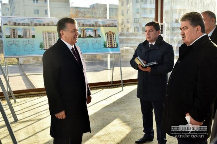 Президент предложил создать парк Жалолиддина Мангуберды в центре Ургенча