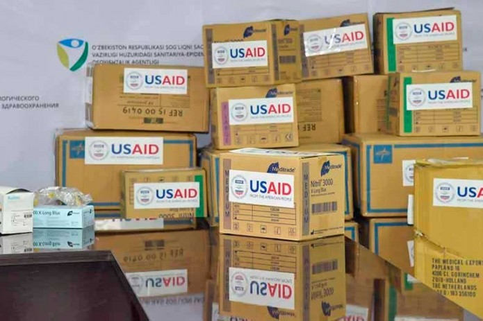 США окажут Узбекистану поддержку в борьбе с COVID-19