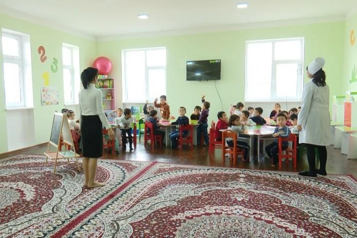 Трастбанк выделил кредит на строительство детсада в Джизакской области