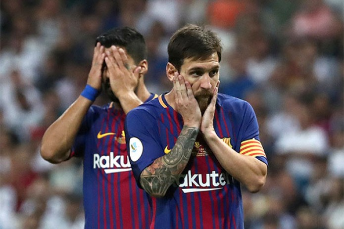 """СМИ: футболисты """"Барселоны"""" отказались от понижения зарплаты"""