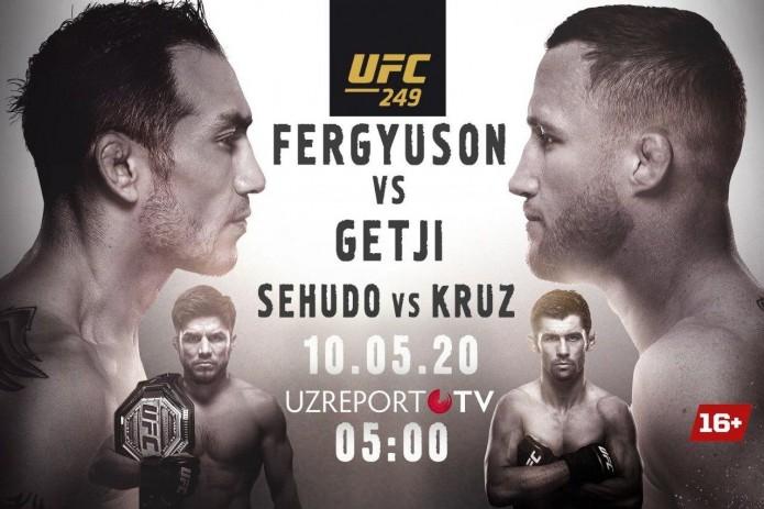 UZREPORT TV UFC 249 musobaqasi translyatsiya huquqini xarid qildi