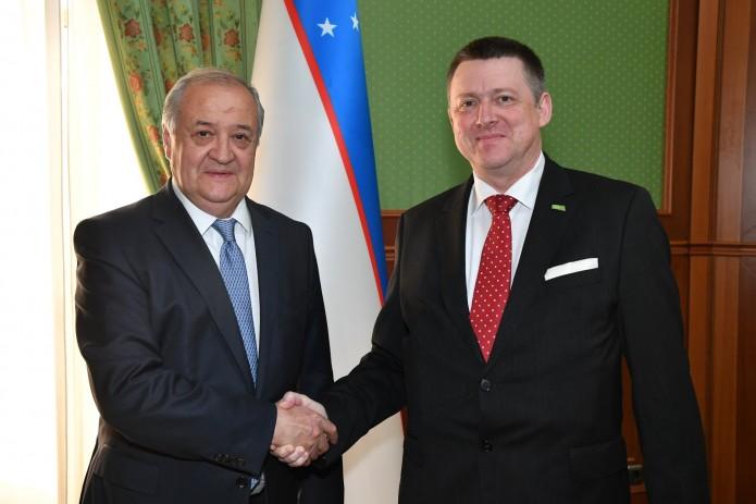 Министр иностранных дел принял нового посла Словении