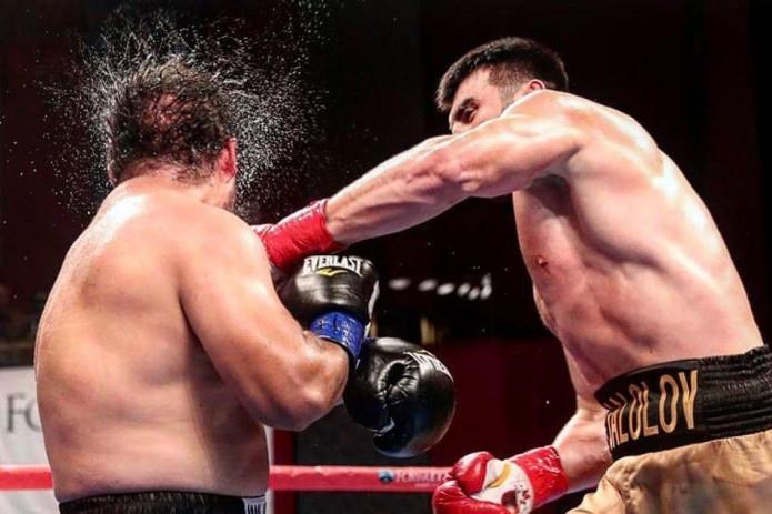 Баходир Жалолов отпраздновал четвертую победу на профессиональном ринге