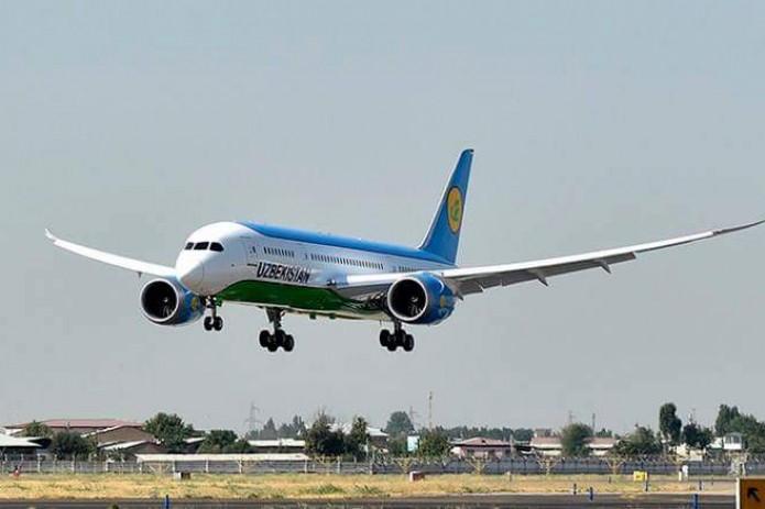 Boeing-787 выполнил первый прямой авиарейс Ташкент-Нью-Йорк-Ташкент