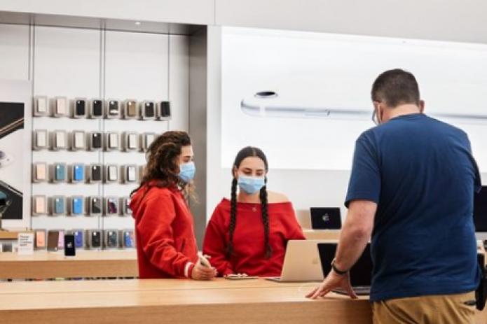 Apple отслеживает iPhone, украденные из магазинов в ходе беспорядков