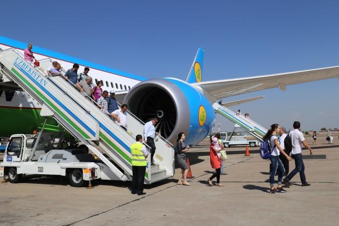 В четырех аэропортах Узбекистана вводится режим «Открытое небо»