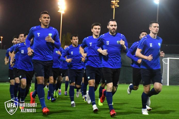 Узбекистан сегодня начнет своё участие в Кубке Азии по футболу