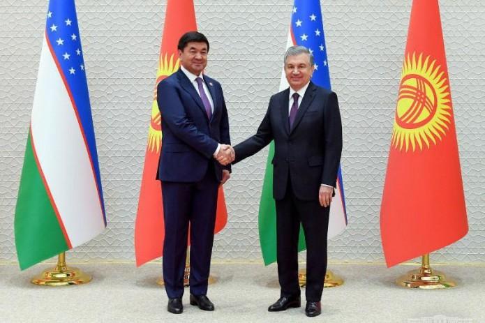 Шавкат Мирзиёев принял Премьер-министра Кыргызской Республики