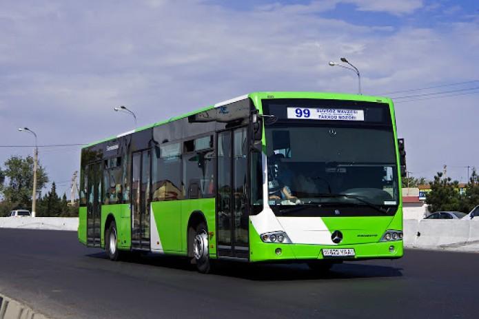 В Ташкенте станут реже ходить автобусы
