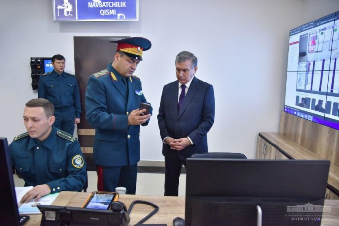Президент поручил выделить ГУВД Ташкента современные вертолеты