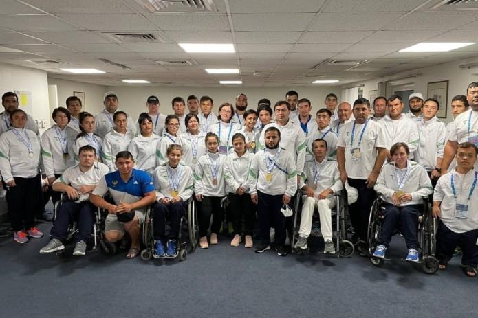 Паратлеты Узбекистана завоевали 24 медали и заняли второе место на Гран-при в Дубае