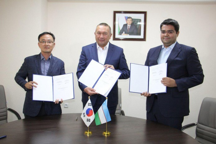 Jizzakh region signs MOC with Korean delegation