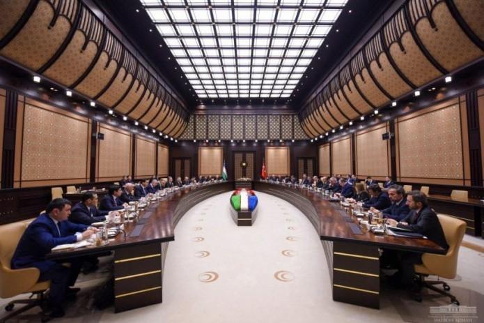 Turkey hosts first meeting of Uzbek-Turkish Strategic Cooperation Council