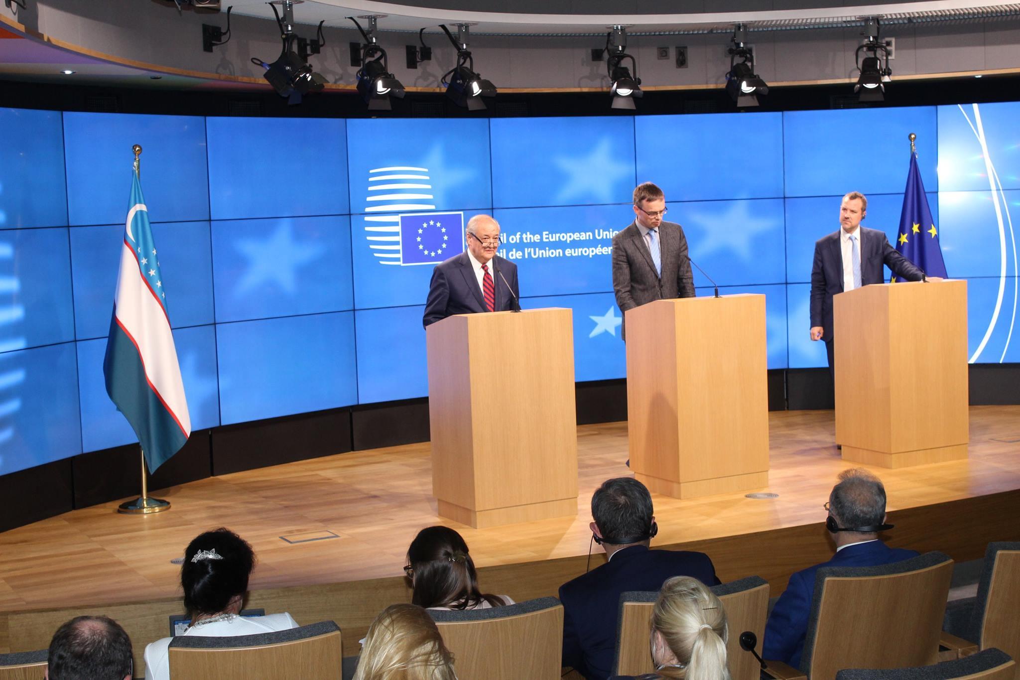 """В Брюсселе состоялось заседание Совета сотрудничества """"Узбекистан – ЕС"""""""