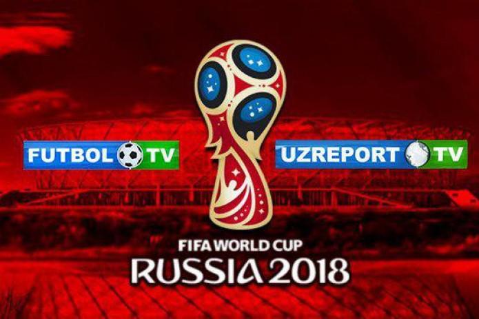 UZREPORT 2018 йилги Жаҳон чемпионати трансляция ҳуқуқини қўлга киритди