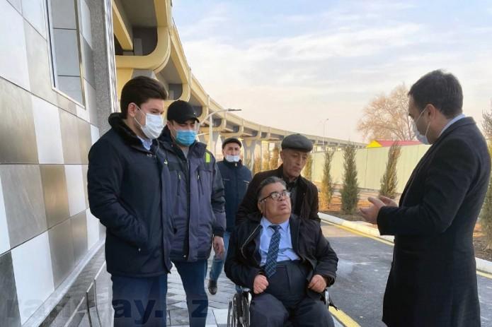 Председатель Ассоциации инвалидов предложил установить светофор и пешеходный переход у дороги возле станций Сергелийского метро