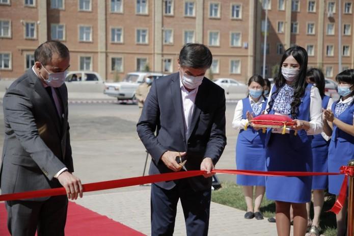 Областной филиал Узнацбанка в г.Нурафшон переехал в новое здание
