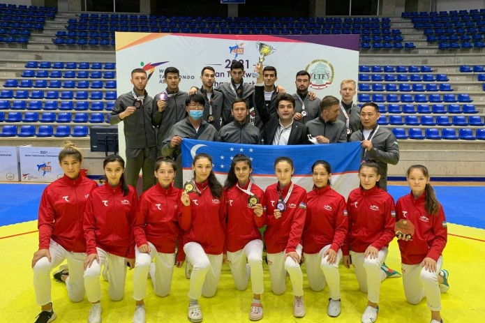 Сборная Узбекистана стала чемпионом Азии по таэквондо
