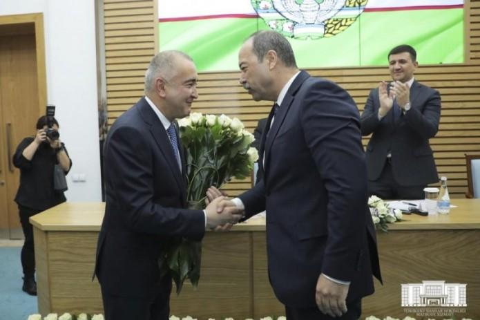 Джахонгир Артыкходжаев утвержден хокимом г.Ташкента
