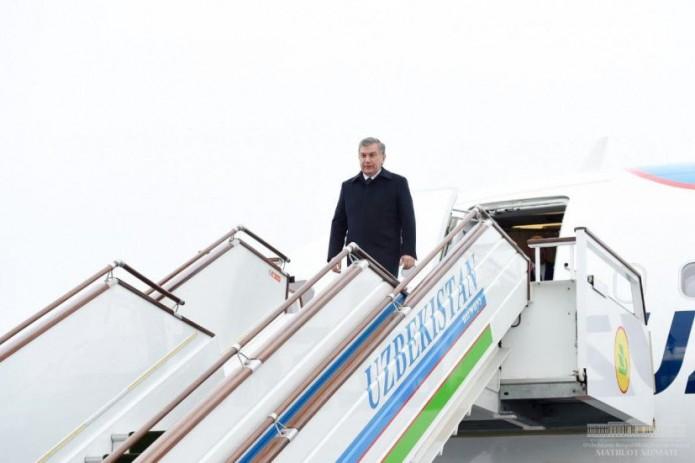 Президент Шавкат Мирзиёев посещает Самаркандскую область