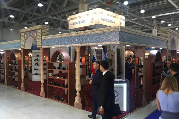Предприятия Узбекистана принимают участие на выставке Мосшуз