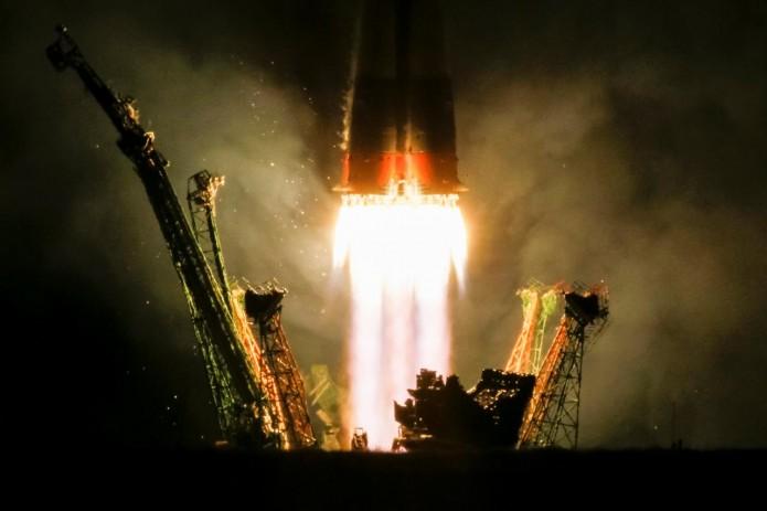 Новый экипаж МКС прибыл на орбиту