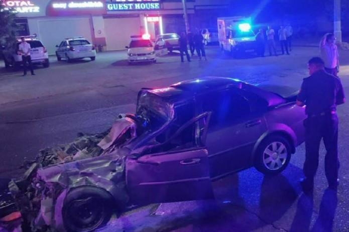 В Чиланзаре столкнулись «Mercedes-Benz» и «Lacetti», один человек погиб