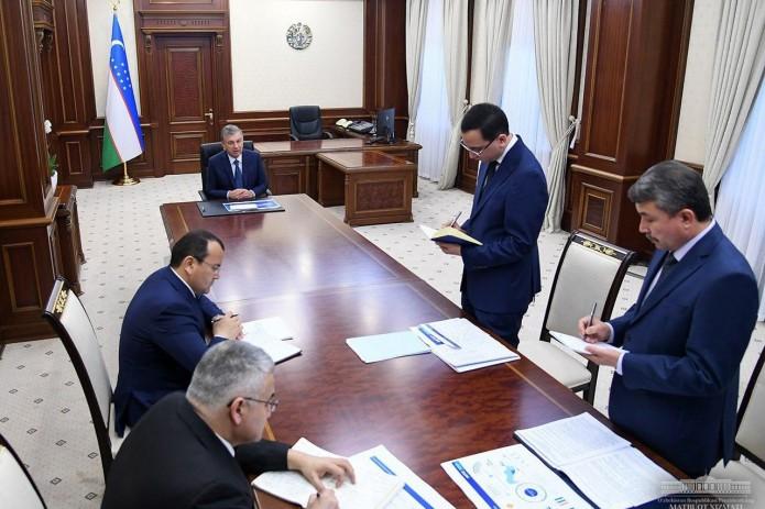 Президент ознакомился с проводимой работой в сфере информационных технологий