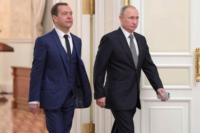 Путин назначил Медведева еще на одну должность