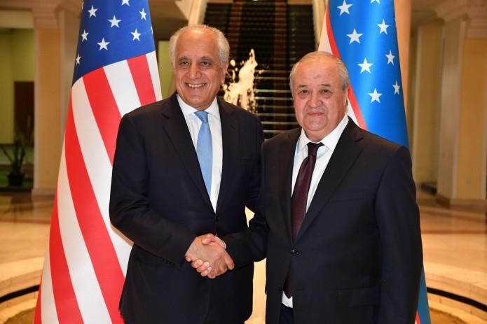Глава МИД принял Спецпредставителя США по афганскому примирению