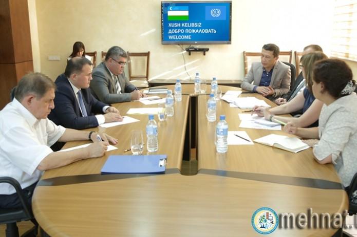 В Минтруда состоялась встреча с представителями МОТ