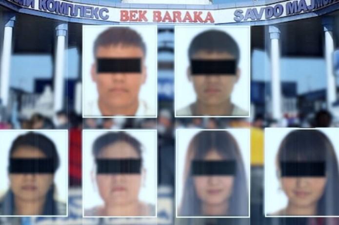 В Ташкентской области задержаны подозреваемые в вымогательстве на рынке «Бек-Барака»