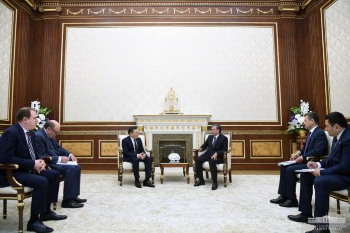 Шавкат Мирзиёев принял генерального директора корпорации «Росатом»